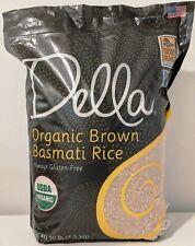 Della USDA Organic Brown  Basmati Rice Gluten-Free 10 Lbs
