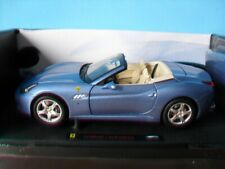 Ferrari California LightBlue Metallic 1:18 Hot Wheels Elite