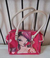 Fafi Girls pink rosa Tasche Handtasche Schultasche Designer Fashionista Border