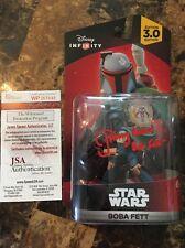 Jeremy Bulloch Signed Boba Fett Disney Infinity Figurine JSA Auth W/ Inscription
