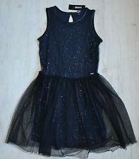 DKNY Donna Karan New York vestido dress cóctel vestido Festiv nuevo talla 176/16 y