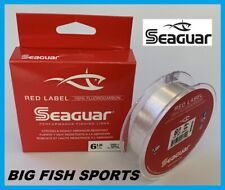 SEAGUAR RED LABEL Fluorocarbon Fishing Line 6lb/200yd 6 RM 200 FREE USA SHIP!