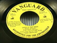 RONI GRIFFITH - Love Is The Drug / Heart On The Line - 1982 VG+(+) CANADA PRESS