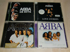 ABBA, 3(+1) CD-Compilations, Love Stories - The Name Of The Game - 18 Hits -