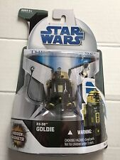"""Star Wars From The Clone Wars R3-S6 GOLDIE CL-23 Action Figure  3.75"""""""