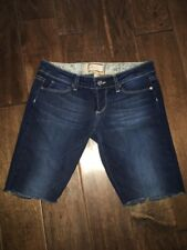 Paige Jeans Cut Off Shorts Canyon Flare Size 25