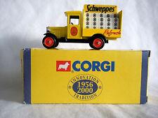 Camionnette de Livraison Chevrolet Delivery Van Schweppes - Corgi 1:55