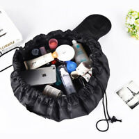 New Makeup Cosmetic Toiletry Case Organizer Storage Pouch Drawstring Travel Bag