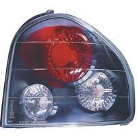 Design Rückleuchten Set links & rechts für Hyundai Santa Fe 00-06 klar schwarz