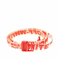 OFF-WHITE c/o VIRGIL ABLOH Rubber Industrial Belt in Red