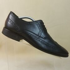 fdf2e8a2 Vestido Bostonian para hombre de cuero negro de extremo de ala Oxford  Zapatos Talla 10 M #D09