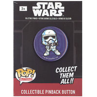Funko Pinback Buttons - Star Wars Episode 7 - FIRST ORDER STORMTROOPER (1.25 in)