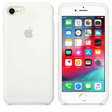 WHITE REAL ORIGINAL Apple Silicone Case iPhone 8 4.7""