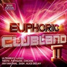 Various Artists Euphoric Clubland 2 CD 3 Disc Dance BOXSET 2014