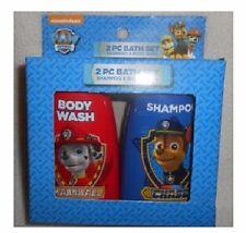 New Kids Paw Patrol 2 Pc Bath Set Shampoo & Body Wash Nick Jr. Stocking Stuffer
