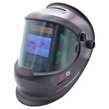 Pro True Color Side View Auto Darkening Welding Helmet For Tig Mig Arc