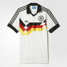 Adidas Retro Alemania occidental World Cup Italia'90 Estilo T-Shirt-S