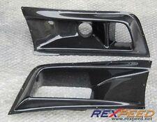 Carbon Fiber Front Bumper Air Duct Vent Mitsubishi EVO 7 (Fits Mitsubishi)