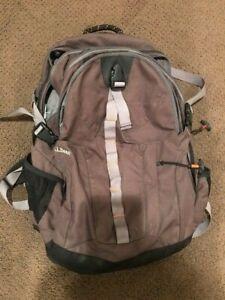 LL BEAN Backpack 0JGV3 Grey