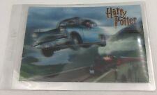 "Harry Potter Flying Ford Anglia 2002 Coca-Cola K-Mart Jumbo 4""x6"" Trading Card"