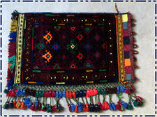Handmade tribal vintage pillow cushion cover, Oriental Baluch bag Wall hanging