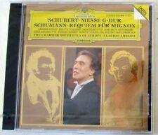 SCHUBERT / SCHUMANN - MESSE G-DUR / REQUIEM FUR MIGNON - ABBADO - CD Sigillato