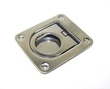 221810 Sea-Dog Line Spring Loaded Flush Ring Pull Lift Handle Stainless 132-240