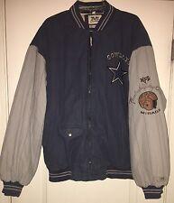 Rare MIRAGE NFL Throwbacks, Dallas Cowboys Football Jacket Size 2XL
