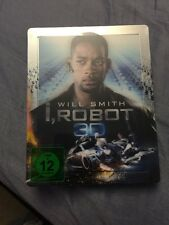 I, Robot SteelBook [Blu-ray: Region Free, 3D/2D, Excl. Lenticular] Will Smith