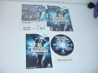 MICHAEL JACKSON: THE EXPERIENCE game complete in case w/ manual for Nintendo Wii