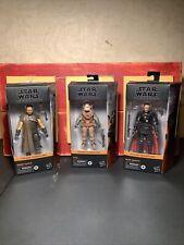 Star Wars Black Series Mandalorian Lot~Greef Karga, Kuiil & Moff Gideon Figures