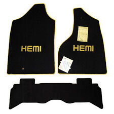 2004 2005 Dodge Ram HEMI Truck Floor Mats Rumble Bee Set 32oz 2ply Quality