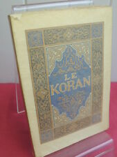 LE KORAN' sourates principales Franz Toussaint Edition d'art Piazza
