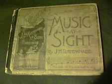 1888 Music at Sight by J.H. Kurzenknabe Harrisburg PA  ed7