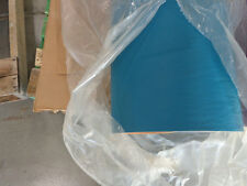 "Formula boat vinyl carribean blue 1/4"" foam backed oem vinyl"