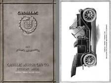 Cadillac 1911 - Cadillac 1911 Advance Information Cadillac Thirty