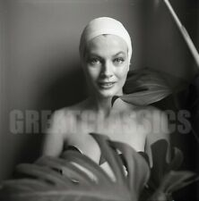 ANITA EKBERG 1950s BEAUTIFUL 2 1/4 CAMERA NEGATIVE PETER BASCH