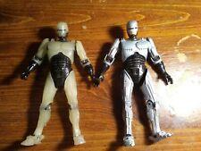 Neca Robocop Lot Of 2 Figures Glow In The Dark With Gun Used