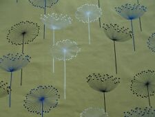 Sanderson Curtain Fabric 'DANDELION EMBROIDERIES' 3.5 METRES Linden/Blue - Woven