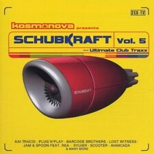 Schubkraft 5 (2001) Dance Nation, Kai Tracid, Plug 'n' Play, Schwarze P.. [2 CD]