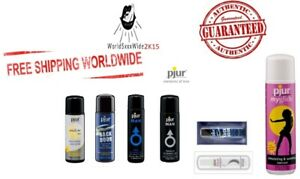 PJUR Lubricants Premium Natural Basic Backdoor Anal Water Silicone Gel Lube