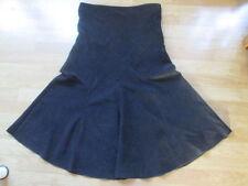 Papaya Full Length Patternless Maxi Skirts for Women