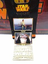 STAR WARS Weekends 2015 Movie Pins set of 3 Ltd Ed of 3900 each signed by artist