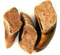 T.FORREST FILLED HOOVES - Natural Cow Hoof with Meat Dog Treats bp Canine Chews