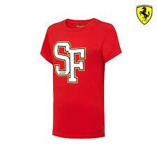 2016 Ferrari F1 Team Niños SF Camiseta Rojo Tamaño 164 Cm (kids) NUEVO