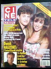 ▬►Ciné télé Revue 8/11/1990; David Hallyday/ Kirk Cameron/ Swayze, Cruise, Gere