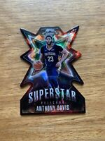 2018-19 Panini - Contenders Optic Basketball: Anthony Davis Superstar Prizm Card