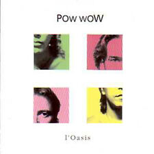 CD single POW WOW Ahmed Mouici L'oasis Promo 2 Tracks card sleeve