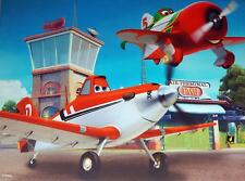 Disney Planes Light Up LED 40 x 30cm Canvas Wall Picture
