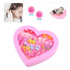 20 Pair Cute Cartoon Earrings Clip-On No Pierced Design fit for Kids Child Girls